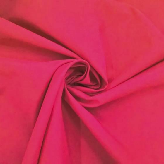 Tessuto per abiti in puro cotone - rosso