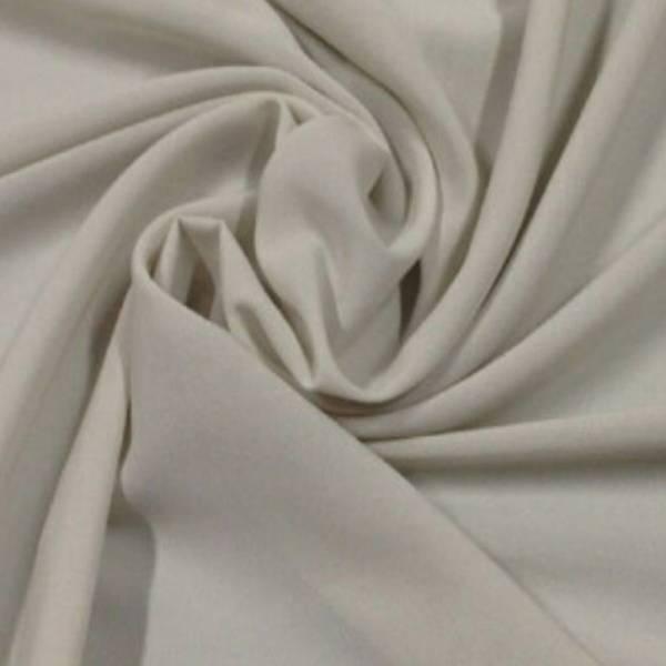 Tendaggio elegante in crepe morbido - grigio chiaro