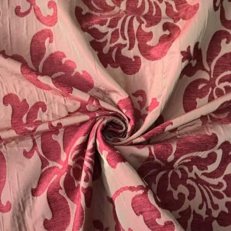Tessuto per arredo e rivestimento motivo damascato