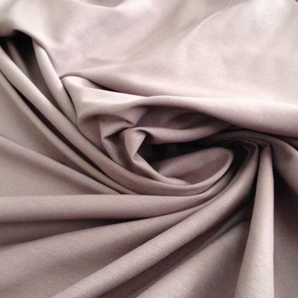 Tessuto per arredo in raso misto di cotone - viola