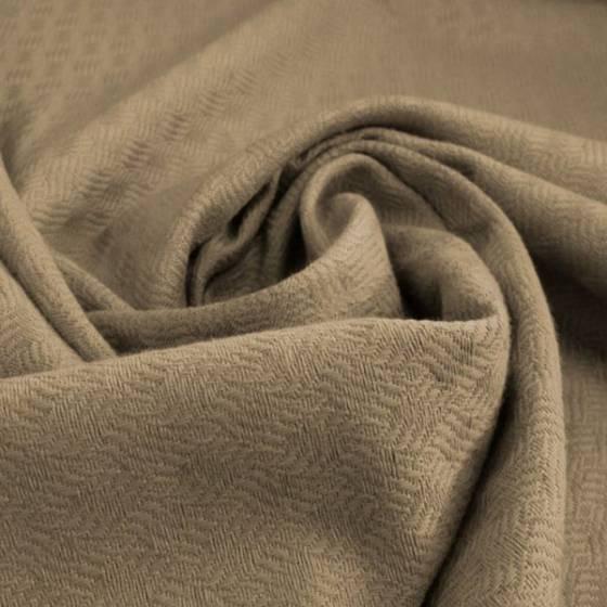 Tessuto per arredamento effetto intrecciato - marrone