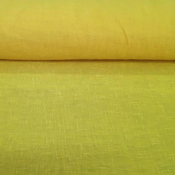 Tessuto per tendaggio bouclè - giallo canarino