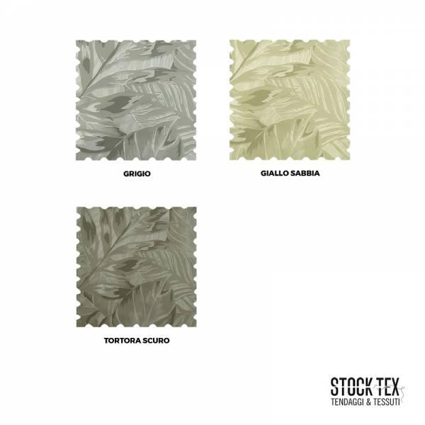 Tessuto tendaggio Jungle in devorè - vari colori3