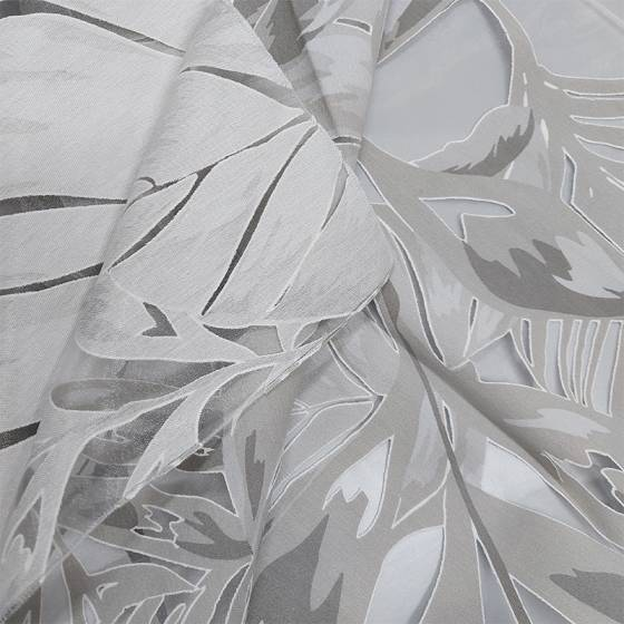 Tessuto tendaggio Jungle in devorè - vari colori2