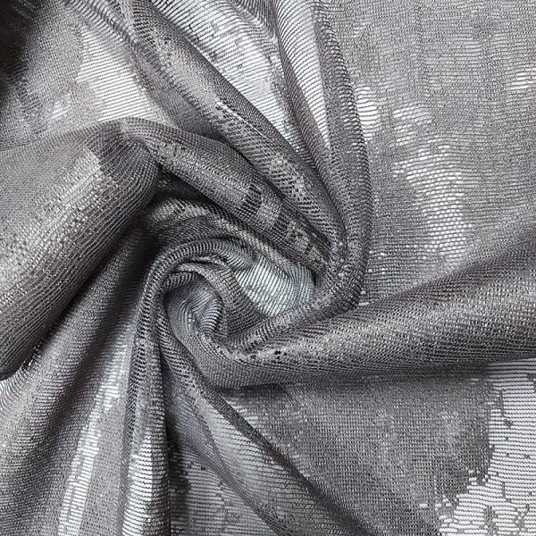 Tessuto tendaggio effetto cemento in devorè - varianti
