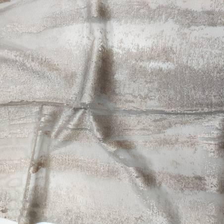 Tessuto tendaggio effetto cemento in devorè - varianti4