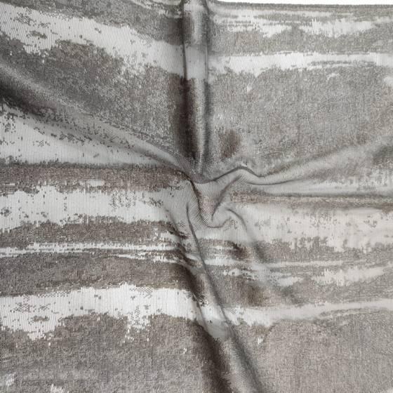 Tessuto tendaggio effetto cemento in devorè - varianti3