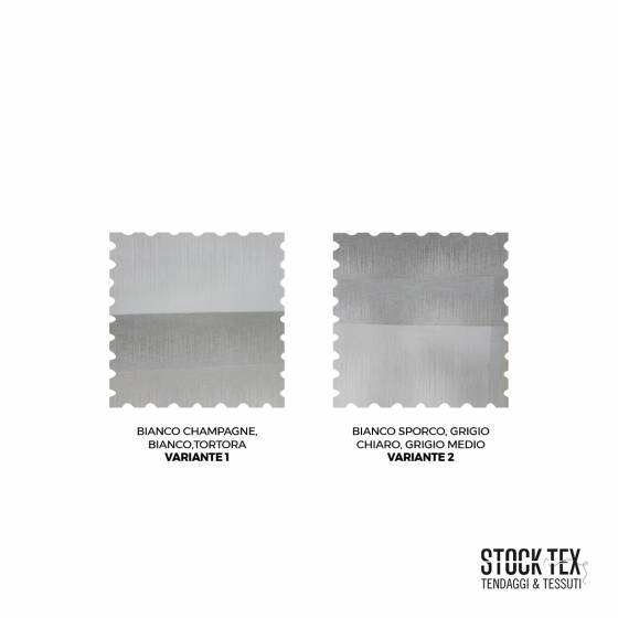 Tessuto tendaggio a righe orizzontali - varianti