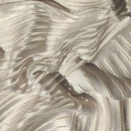 Tessuto tendaggio devorè decoro astratto2