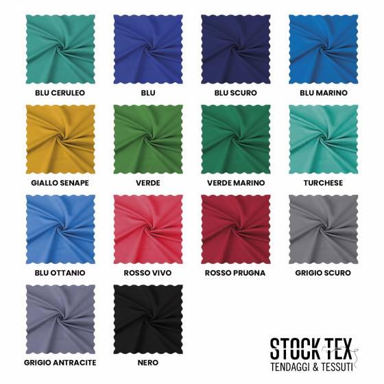 Tessuto per rivestimento idrorepellente antimacchia - varianti colori