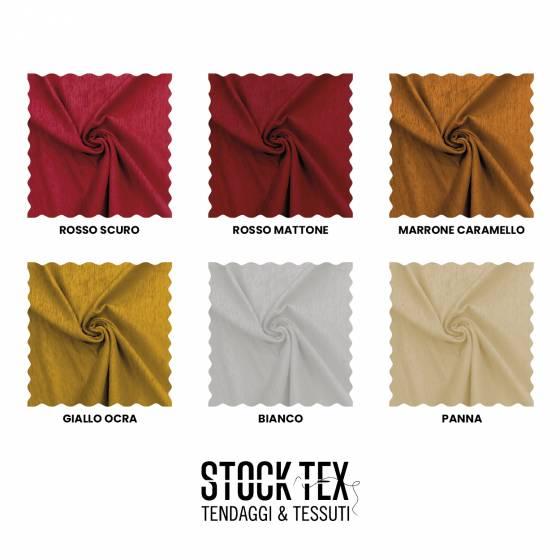 Tessuto rivestimenti in ciniglia effetto brillante - varianti colore
