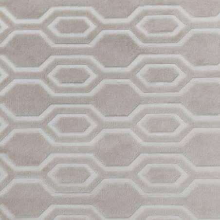 Tessuto arredamento Agnes vellutato motivo geometrico - vari colori