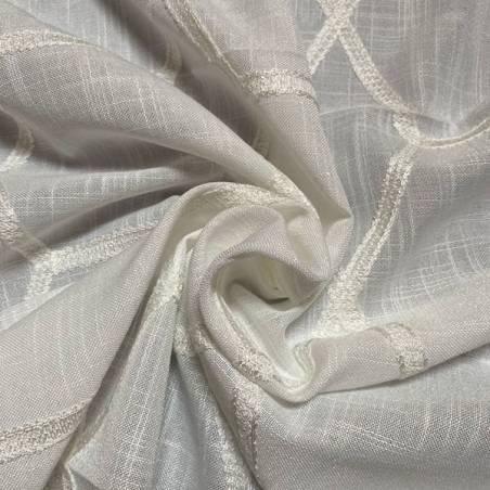 Tessuti per tendaggi a fantasia geometrica nido d'ape 4