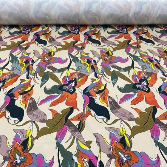 Tessuto mille usi fantasia floreale multicolor