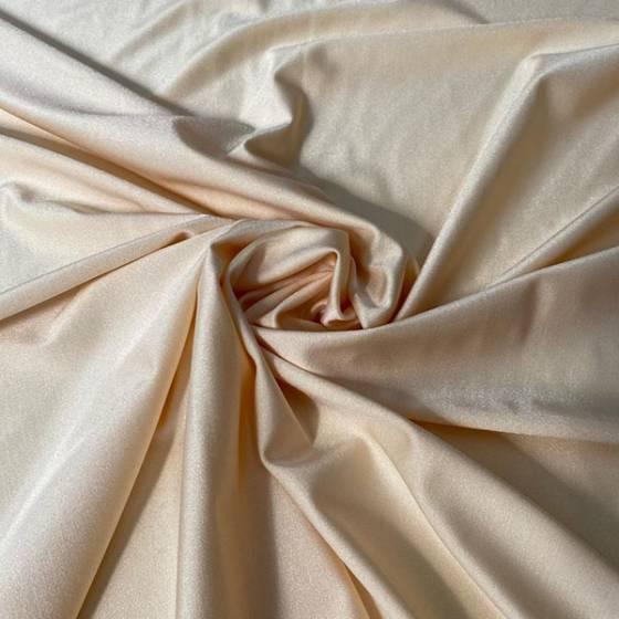 Tessuto abbigliamento in Lycra color nude