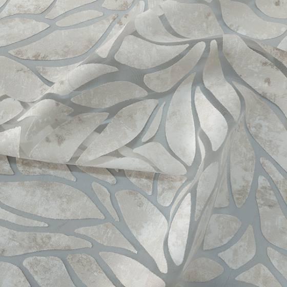 Tessuto per tendino effetto devorè elegante