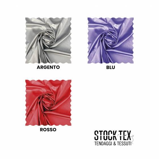 Tessuto abbigliamento in Lycra lucido - varianti colore