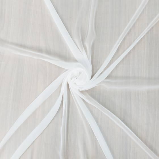 Tessuto per abbigliamento groffato 100% seta Voile