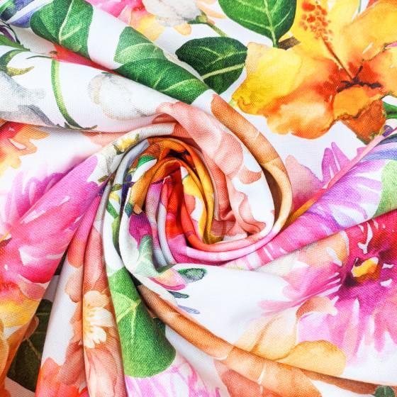 Tessuto per arredamento fantasia fiori 6